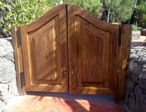 Saloon Türen / Gartentüre